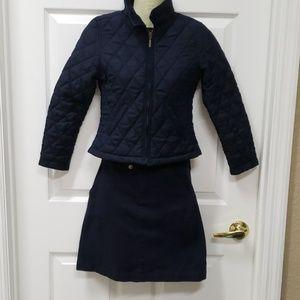 Navy uniform set size 10 Youth Medium